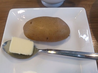 欧風カレー小夢(チャイム)ポテト