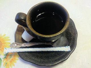 生州割烹輝髙葉月食後のコーヒー