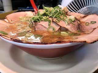 らーめん2国チャーシューめん(太麺)