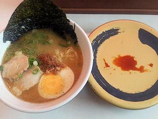 はま寿司濃厚魚介とんこつラーメン