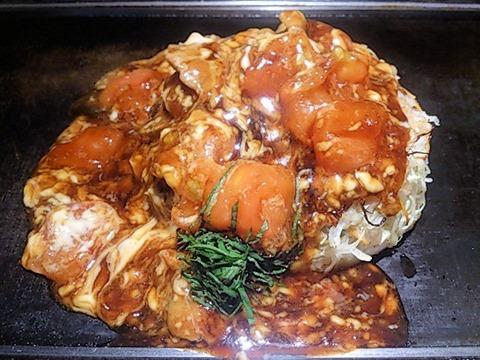 京ちゃばなトマトのお好み焼き