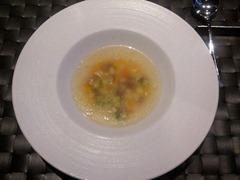 別邸 石窯ステーキ 志方亭 石窯ステーキコーススープ
