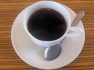 カフェレイ食後のコーヒー