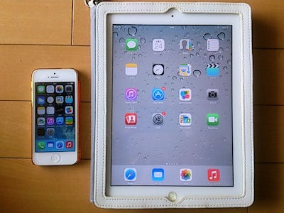 iPhone5とiPad2