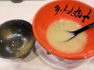 つけ麺・ラーメン丸十スタミナ丼セット