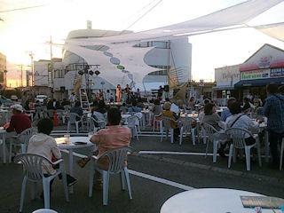 たかさご万灯祭2015駅前広場