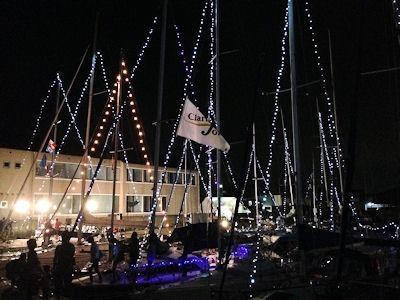 たかさご万灯祭2015水の灯りの会場