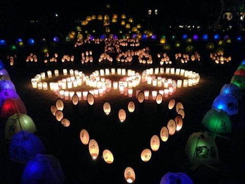たかさご万灯祭2015高砂神社境内