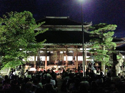たかさご万灯祭2015十輪寺