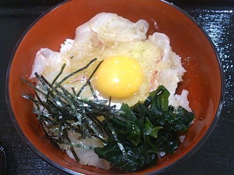 愛媛ほづみ亭宇和島鯛めし丼