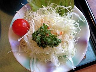 播磨水産加古川名物かつめしのサラダ