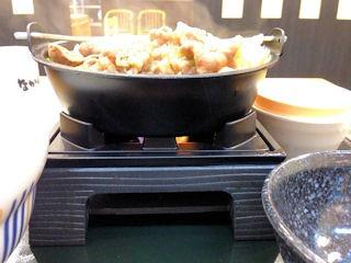 なか卯牛すき焼き鍋膳