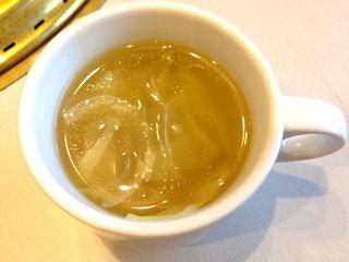 じゅうじゅうカルビダイナマイトカルビランチのスープ