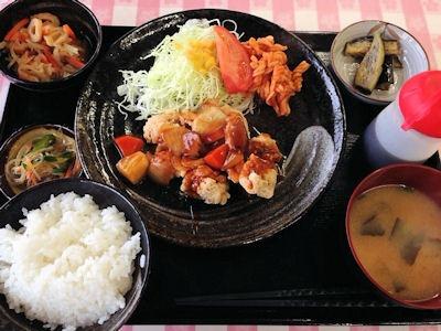 カフェごはんのーちゃん日替り定食(すどり)