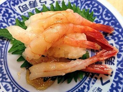 くら寿司たっぷり甘えび石澤ドレッシング(和風醤油)