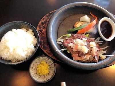 ステーキ藤久牛肉ステーキセット