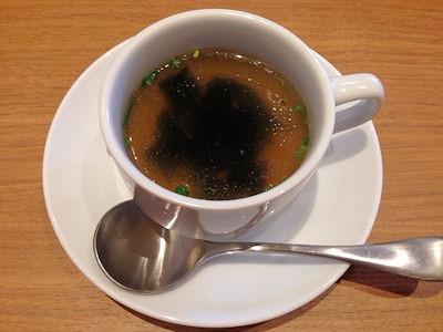 ワンカルGRILLチキンスープ