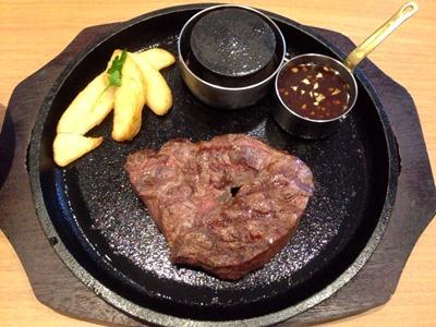 ワンカルGRILL炭火焼 ミスジステーキ