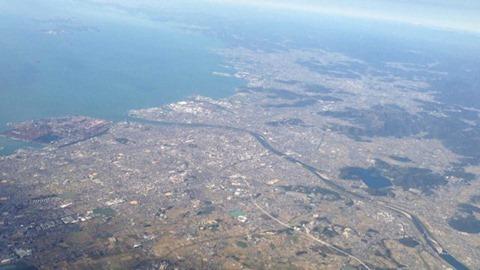 スカイマーク空の旅加古川&高砂上空