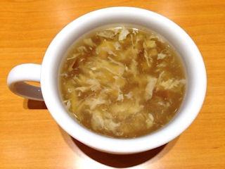 ステーキ宮日替りランチのスープ