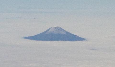 スカイマーク空の旅富士山