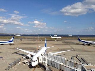 スカイマーク空の旅羽田空港