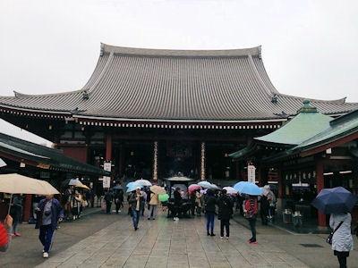 浅草観光/浅草寺/本堂(観音堂)