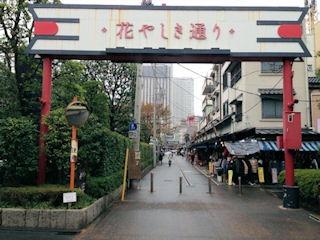 浅草観光/浅草寺/花やしき通り