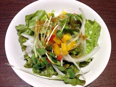 ハンバーグ&ステーキHIROセットサラダ