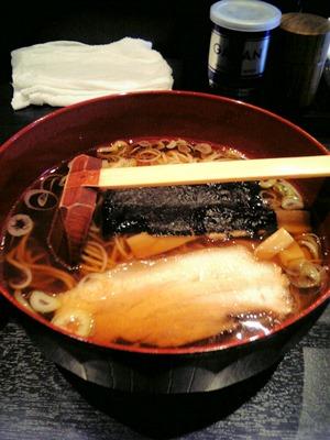 姫路城下らーめん宿場町『忍者ラーメン忍』溜り醤油ラーメン