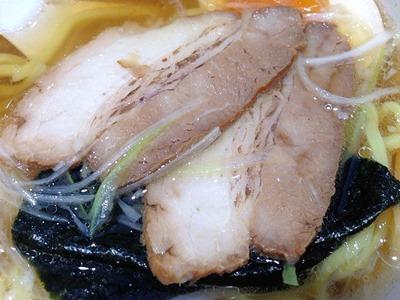 魚べいこだわり醤油ラーメン(コッテリ)