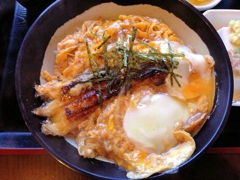 どんぶり勘定「明石松江下村」さんの焼きあなごとじ丼セット
