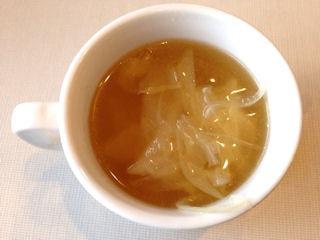 じゅうじゅうカルビお重ランチのスープ