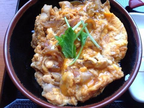 丸亀製麺親子丼