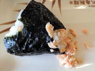 丸亀製麺鮭のおにぎり