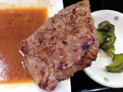 焼肉鈴和牛ロース焼き定食
