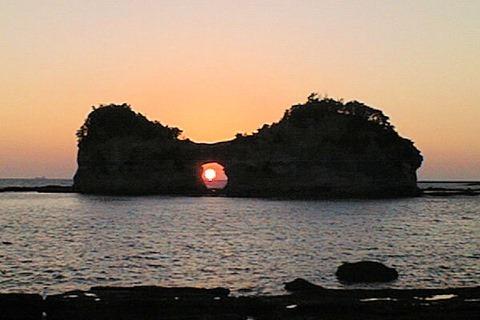 和歌山白浜温泉円月島