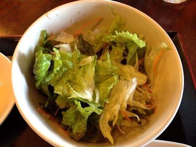 海鮮中華厨房張家日替りランチサラダ