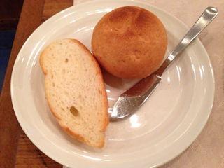 ふらんすごはん屋アンアミティエBコースのパン