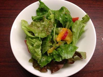 ステーキ&ハンバーグ富士亭のサラダ