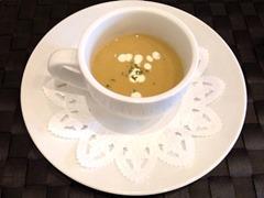 洋食グリル天平ハイシライスセットのスープ