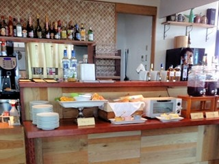 Comodo Cafe & Dining ビッフェコーナー