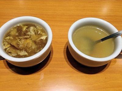 ステーキ宮ランチセット飲み放題のスープ