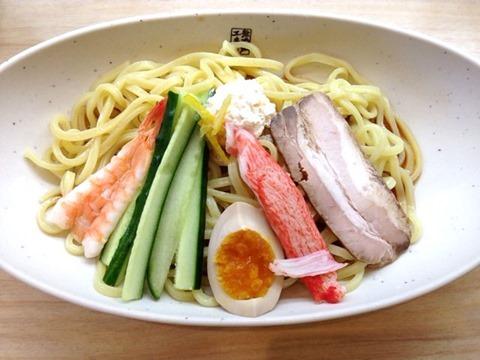 くら寿司7種の魚介だれ冷やし中華はじめました