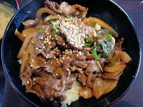食堂カフェCOCO家和牛焼き肉スタミナ丼