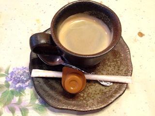 生州割烹輝髙文月のコーヒー