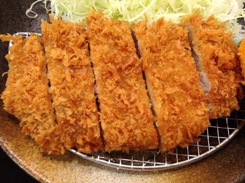 松乃家ロースかつ定食