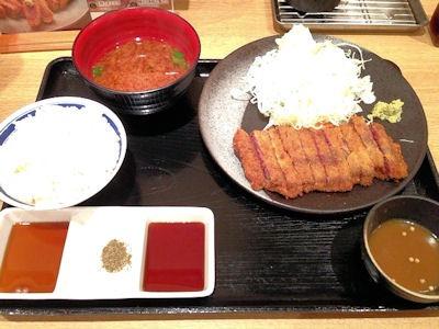 牛カツ専門店京都勝牛牛ロースカツ膳