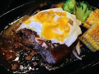焼肉 とん福鈴ハンバーグセット