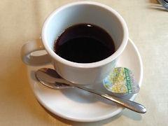 マペットランチの食後のコーヒー